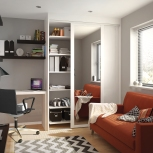 Our products can fit all kinds of spaces. You don't need a big room to create your dream look.
